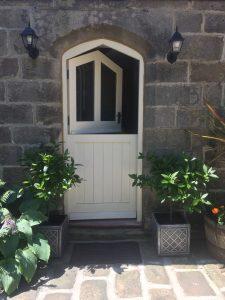 Split-door of Hazel Manor Stables Suite