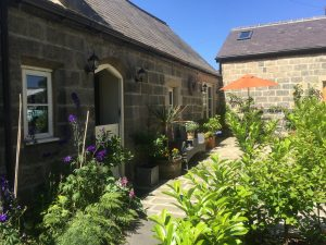 Exterior of Hazel Manor Stables Suite
