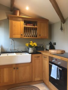 Stables Suite kitchen