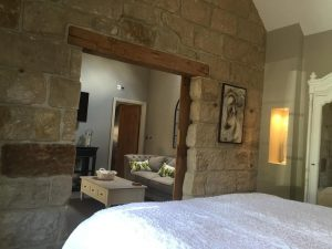 Stables Suite view from bed
