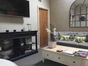 Hazel Manor Stables Suite lounge